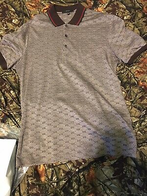 e65066593 ... Print Polo Size Large 100% Authentic No Best Offers Final Price.