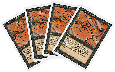 Magic the Gathering ~ 1x Contract from Below ~ Revised ~ M//NM ~ MTG