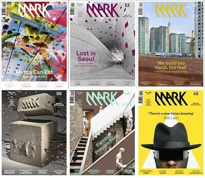 MARK Magazine's Archive Collection (2012-2018) PDF's DVD + EXTRAS Architecture
