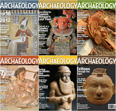 Archaeology Magazine's Archive DVD (2011-2018) PDF's + *EXTRAS* World American