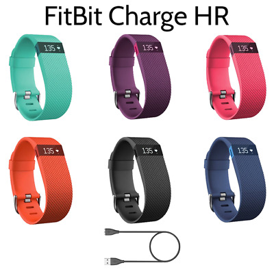 Fitbit Charge HR Activity Heart Rate + Sleep Wristband With Charger