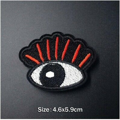 Woven IRON-ON PATCH Sew Embroidery Applique Fashion Badge GIRL GANG