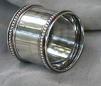 Antique? Sterling Silver Napkin Ring Holder Late 1800s?