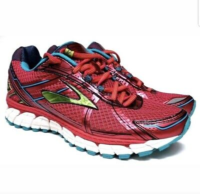 3f9b235ef28f9 Brooks Adrenaline GTS 15 Running Shoes Size 10 M Raspberry Lime Punch  Sneakers