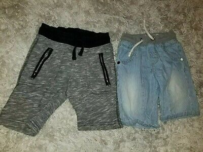 H&M & Next Direct 2 Pairs Boys Shorts Size 3-4 Years
