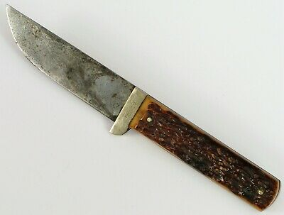 Vintage Kinfolks Fixed Blade Hunting Knife Nice Condition Outdoors Sportsman