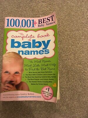 10001 Best Baby Name Book