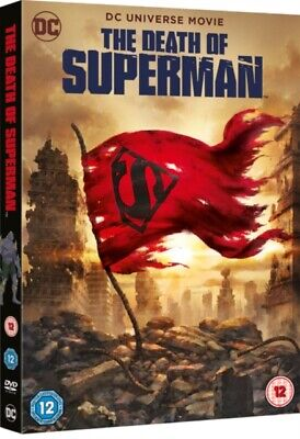 The Death of Superman (DVD, 2018) *NEW/SEALED* 5051892212755, FREE P&P