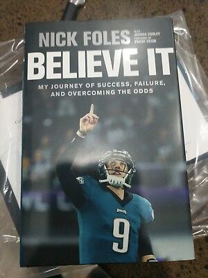 48c2982dab4 NICK FOLES SIGNED Book