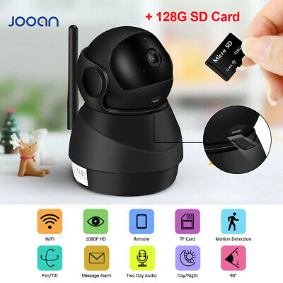 JOOAN HD 1080P Wireless WiFi IP Camera Home Security IR Network Pet Baby Monitor
