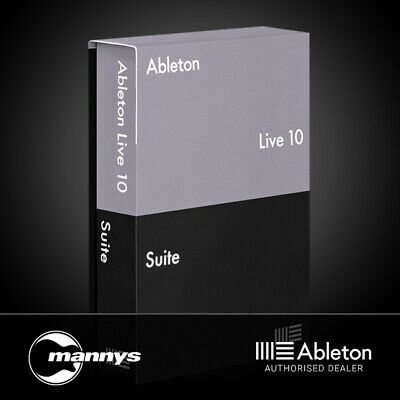 Ableton Live 10 Suite Music Production Software Upgrade from Live Lite