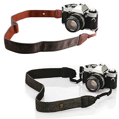 2Pack Adjustable Camera Shoulder Neck Strap Belt Girdle Outdoor Universal Straps