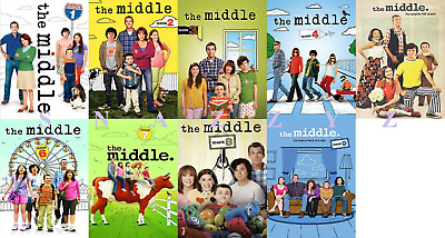 New & Sealed! TV The Middle Complete Series Seasons 1 - 9