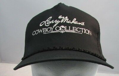 a7fda96a Vintage Larry Mahan Cowboy Collection Trucker Style Mesh Cap Hat Snapback