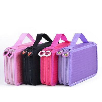 Pencil Case Large Capacity School Stationery Cosmetic Bag Holder Multi-function