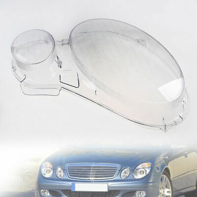 Headlight Clear Lens Cover Right Side For BENZ E Class W211 E350/300/200 2002-08