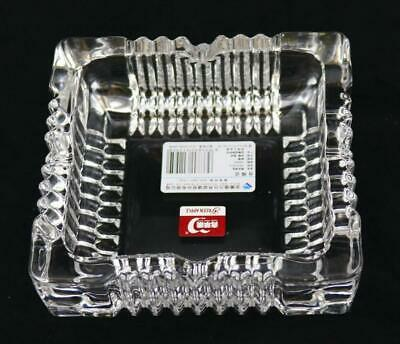 FREE POSTAGE NOW: Glass Ashtray Square 20842
