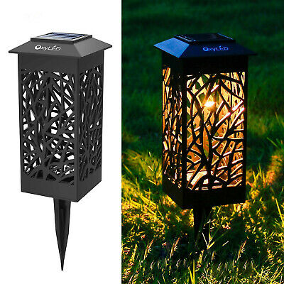 Solar Garden Path Lighting, Weatherproof Decorative Landscape Lighting Lights UK