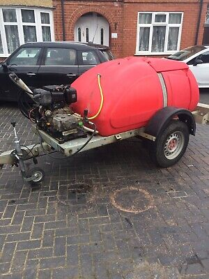 WESTERN TOWABLE Diesel PRESSURE WASHER BOWSER 1000litre Yanmar Engine