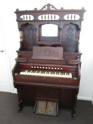 Estey Organ circa 1914 - an original antique made in Brattleboro, VT, USA