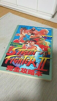STREET FIGHTER II 2  SNES Guide Book by CAPCOM