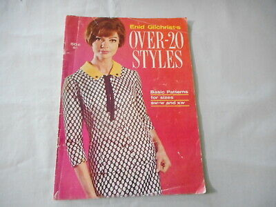Enid Gilchrist's Over-20 Styles - Basic Patterns for Sizes SW-W and XW