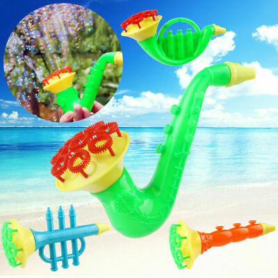 Funny Water Blowing Toys Bubble Soap Bubble Blower Outdoor Kids Child Toy Random
