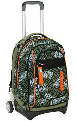 Wheeled Backpack Trolley SEVEN New Jack Totem Green