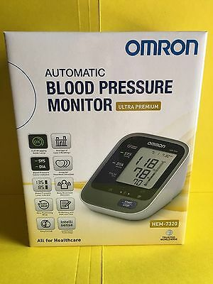 OMRON BLOOD PRESSURE MONITOR HEM7320 Plus FREE EXPRESS POST!