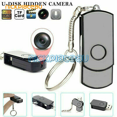 Mini Spy Camera 1080P DVR Home Security HD Night Vision Remote