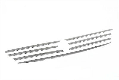 For Mercedes Vito Viano W639 03-10 Front Grill Trim Stripe Set Moulding Chrome