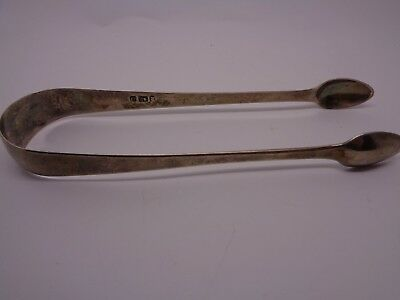 ANTIQUE 1817 SILVER SUGAR TONGS EXETER GEORGE FERRIS MAKERS afternoon tea