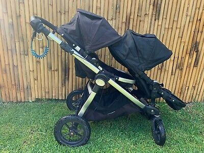 Baby Jogger City Select Black double pram