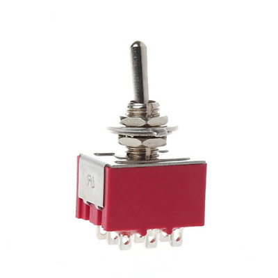 MTS-302 Toggle Switch SPDT Switch 9 Pin 2 Position ON-ON 5A/125VAC 2A/250VAC 6mm
