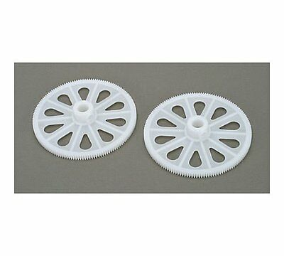 RH1220-W 2 Pcs White Tail Drive Gear For T-Rex 450 Helicopter