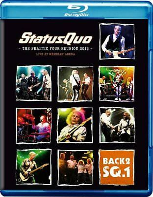Status Quo Back2Sq.1 Live At Wembley Arena Blu-Ray All Regions & Cd New