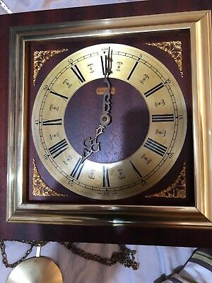 Vintage H. Samuel Wall Clock with FHS Movement Made in Germany Spares or Repair