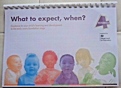 What To Expect, When? EYFS Nursery, Childminding Ofsted - Spiral Bound