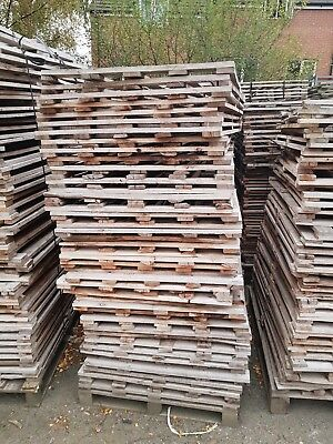 Stack Of 50 Wooden Pallet Tops - New/unused, Fencing, Wood Projects