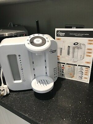 Tommee Tippee Closer to Nature Perfect Prep Machine Used In Box