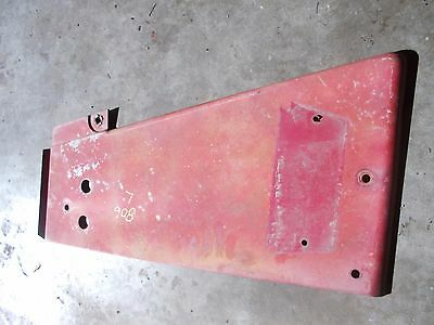 Farmall 806 Tractor IH IHC radiator left side cover panel