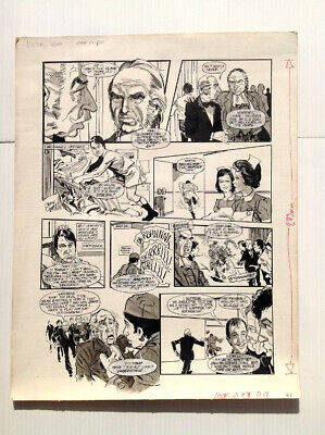 Original Comic Art of DOCTOR ON THE GO by John Cooper (signed)