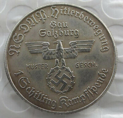 Germany 1 Schilling Kampfspende Exonumia Coin