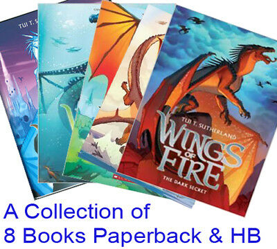 Wings of Fire Books Collection  - A Set of 8 Brand New Books by Tui T Sutherland
