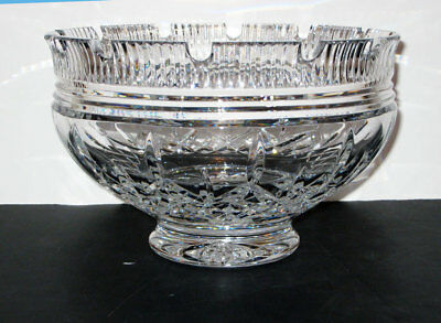 """Waterford  LISMORE CASTLE 10"""" Footed  BOWL - new - Gift Box"""