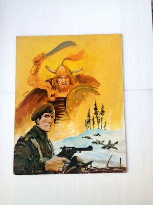 Original Comic Art of WAR PICTURE LIBRARY Cover #873