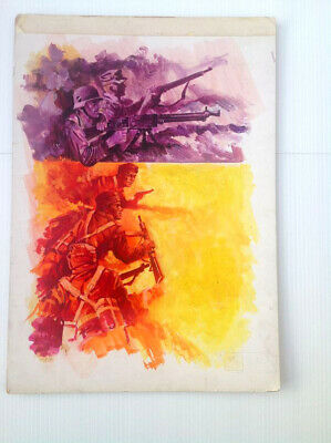 Original Comic Art of WAR PICTURE LIBRARY Cover #586: P. Dimmock