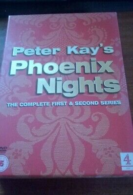 Peter Kay's Phoenix Nights The Complete First & Second Series Box Set