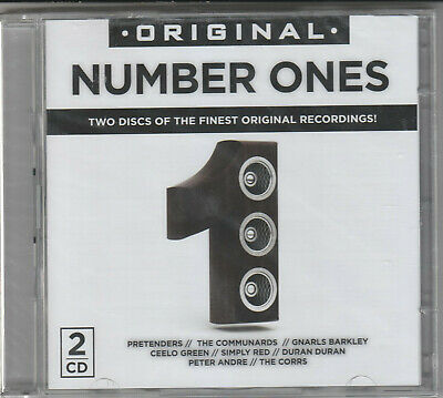 Original Number Ones Factory Sealed BRAND NEW 2XCD Free 1st Class UK P&P