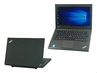 Lenovo Thinkpad X240 Core i5-4300U 8GB Ram 500GB HDD Windows 10 Webcam Laptop